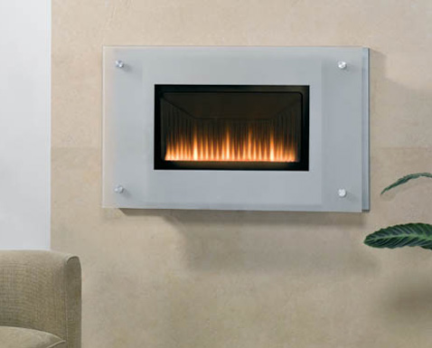 Linea Vetro Gas Fire