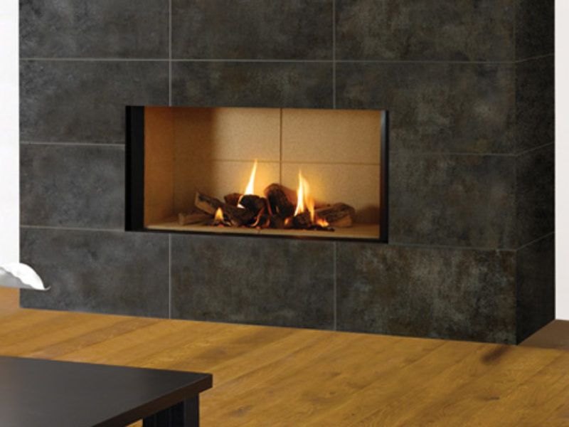 Riva2 1050 Edge Gas Fire