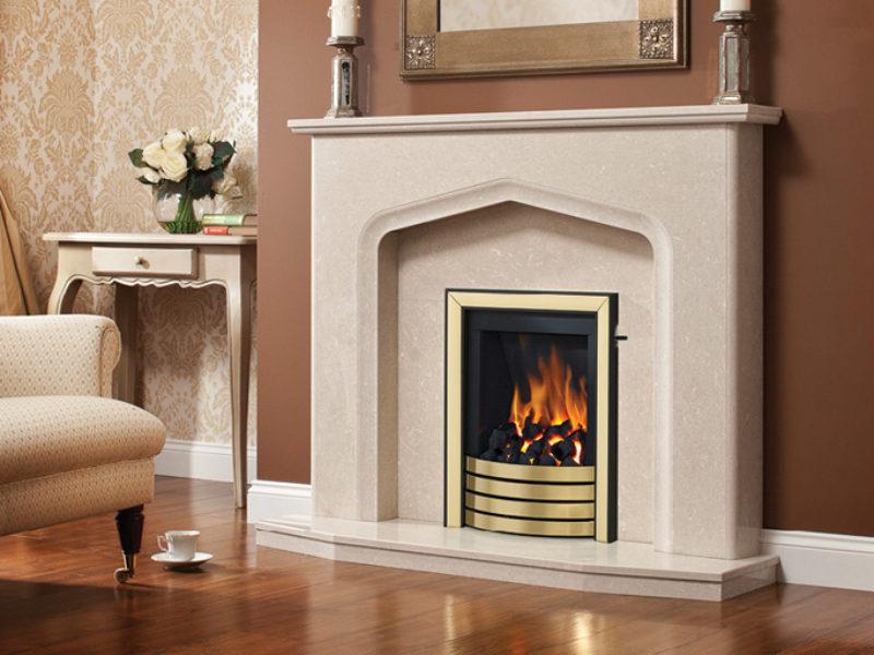 Aurelia Marble Fireplace