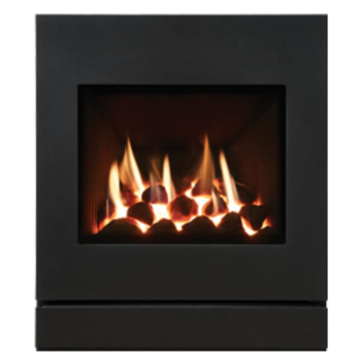 Gazco Logic Designio2 Steel Inset Gas Fire