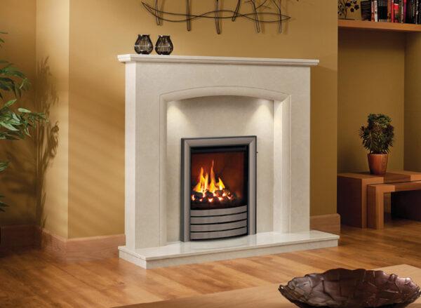 Elissa Marble Fireplace