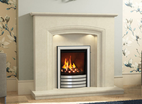 Felicia Marble Fireplace