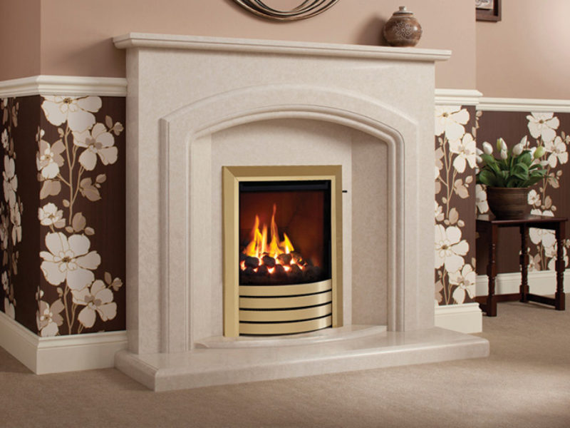 Harriet Marble Fireplace