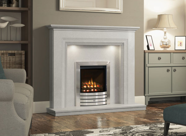 Odella Marble Fireplace
