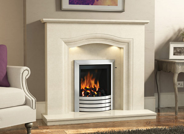 Rosalina Marble Fireplace