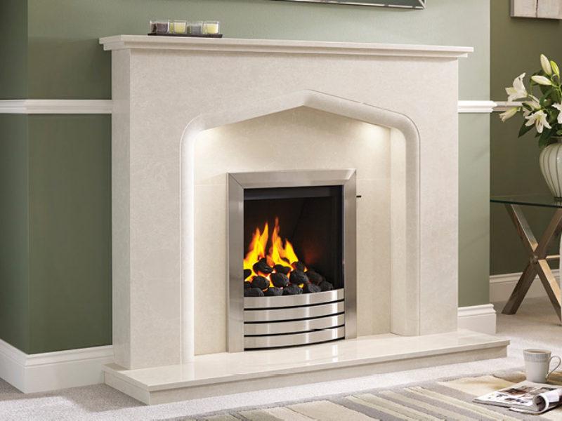 Verdena Marble Fireplace
