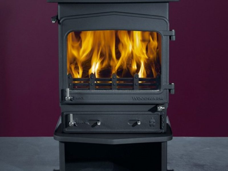 Woodwarm Fireview 5KW Slender